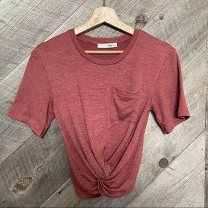 Wilfred Free Subah knotted T-Shirt